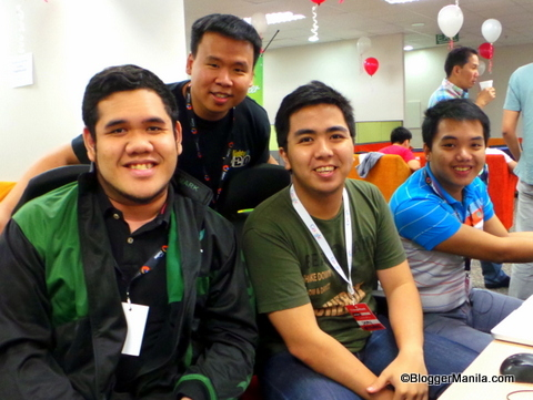 AngelHack Manila Team composed of St. Benilde alumni