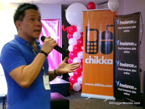"AngelHack Philippine Ambassadors Diego ""DJ"" Ramos from Asia Pacific Venture Partners"