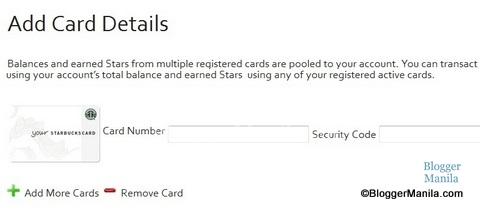 Starbucks Card Holder Profile
