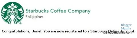 Starbucks Card Account