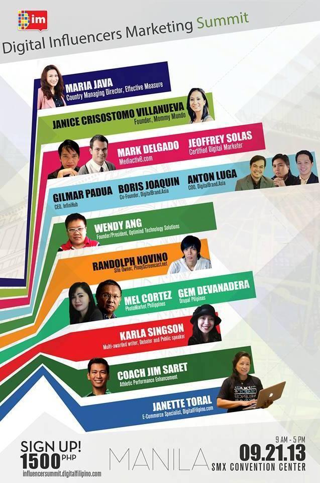 Digital Influencers Marketing Summit 2013