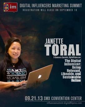 Ms. Janette Toral