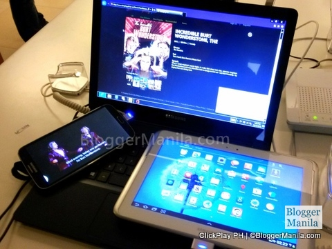 ClickPlay on different devices /  gadgets