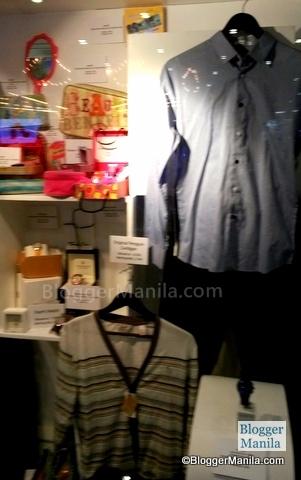 Catch the items at the Cinema Lobby of Trinoma