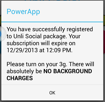 Background Charging?