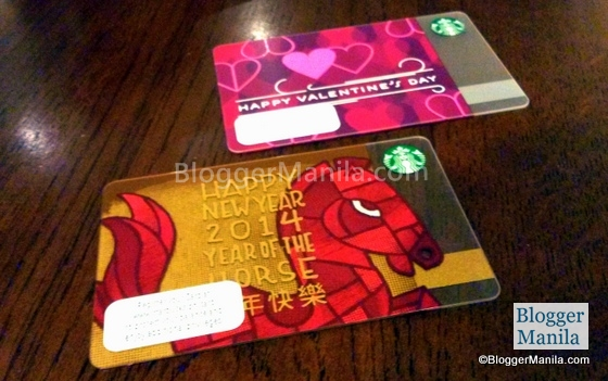Starbucks Card 2014