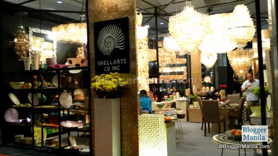Shell Arts Co. Inc.. Other notable booths we visited are <strong>Floreia</strong> eco-friendly sustainable fashion, <strong>Antonio</strong> Manila, <strong>Apollo</strong> Trading, and <strong>Liman</strong> Enterprises,