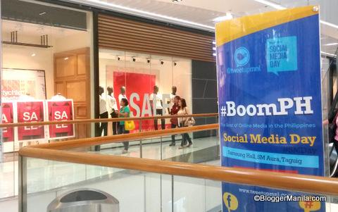 Social Media Day in SM Aura