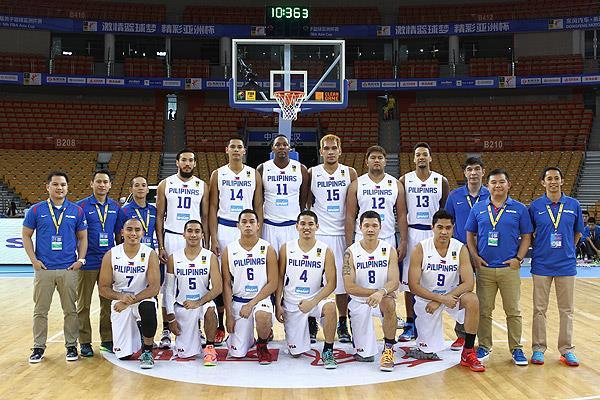 Gilas Pilipinas Team