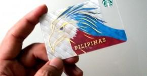 Philippine Starbucks Card FIrst Edition