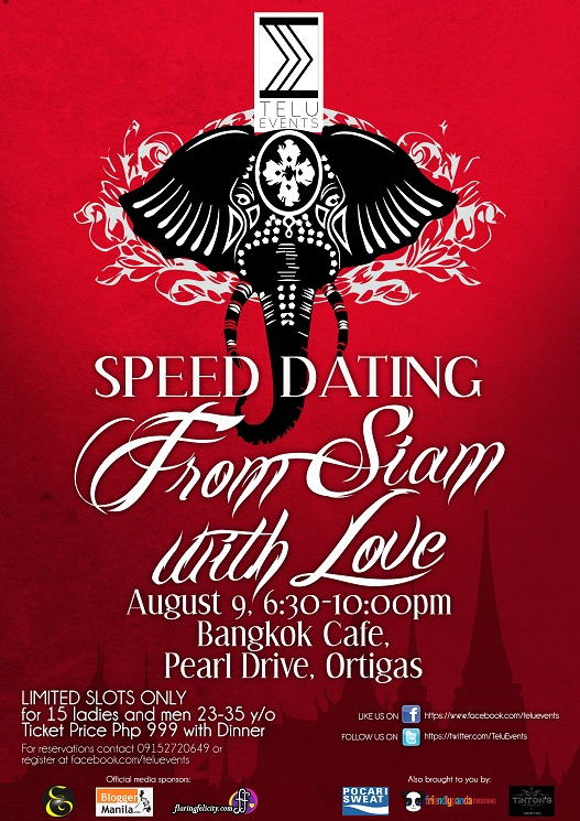 Speed Dating : From Siam with Love