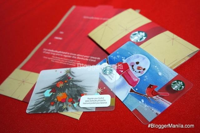 Starbucks Christmas Cards