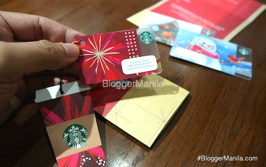 1st Philippine Starbucks Miini Card