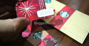 Starbucks Holiday Mini Card