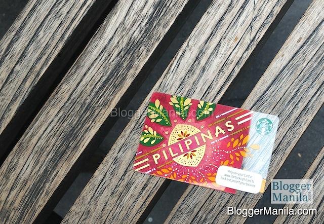 Pilipinas Starbucks Card