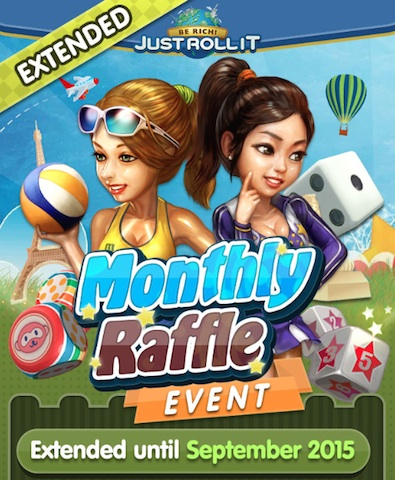 Monthly Raffle Event