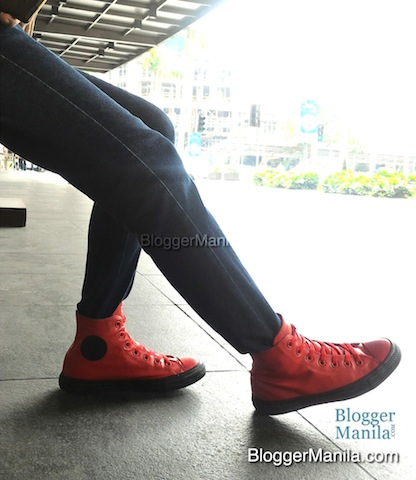 Casino Red Rubber Chucks