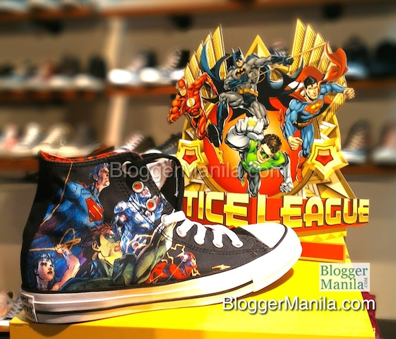 Converse DC Justice League