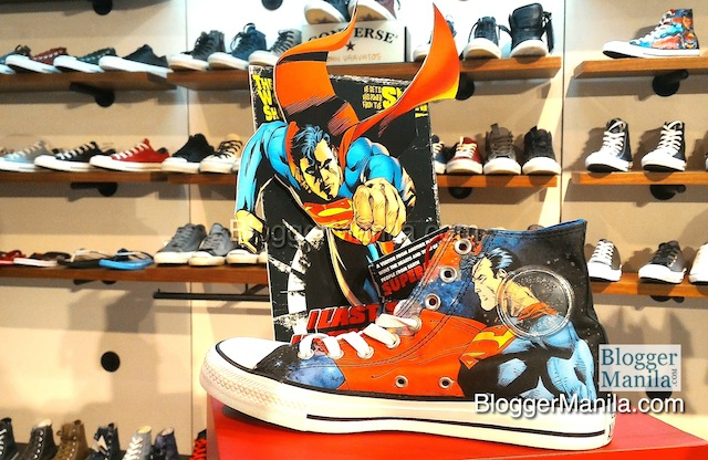 Converse DC Superman