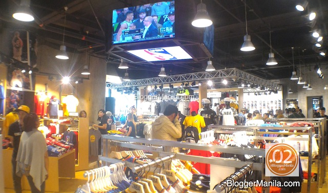 6ac81f10c7eb NBA Store. Inside the NBA Store. NBA Store Philippines