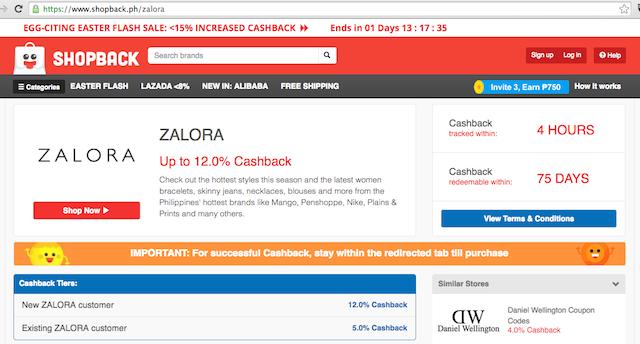 Zalora Shop Back