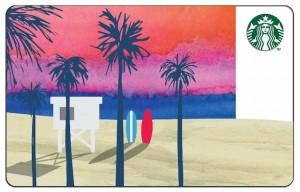 Starbucks Summer Beach Card