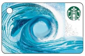 Starbucks Wave Mini Card