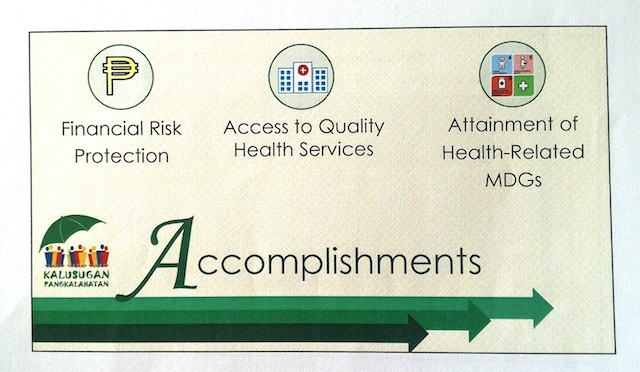 Department of Health Accomplishments