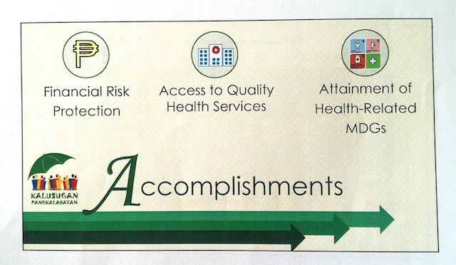 Department of Health Accomplishments