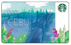 Cebu Starbucks Card