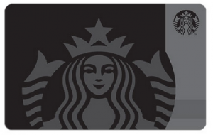 Siren Starbucks Card