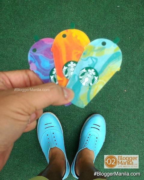 Starbucks Frappuccino Die-Cut Card