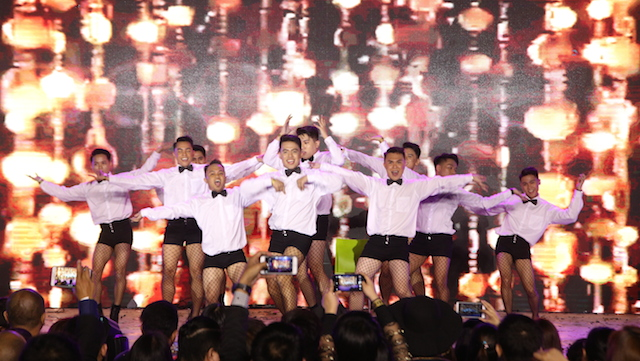 employee dance competition