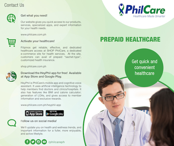 PhilCare Health Vantage Card