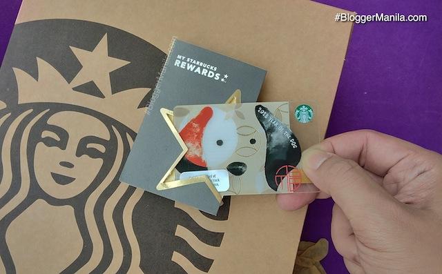 Starbucks Lunar New Year Card 2018