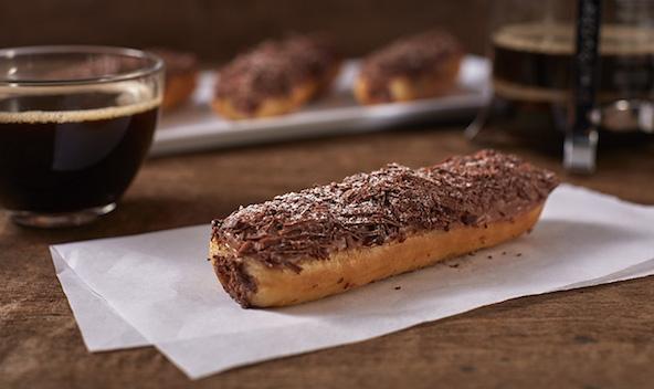Starbucks' Chocolate Doughnut Eclair