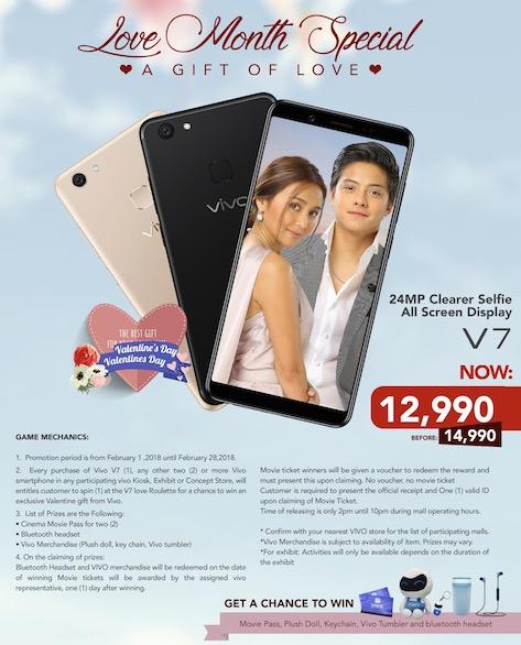 Vivo's Love Month