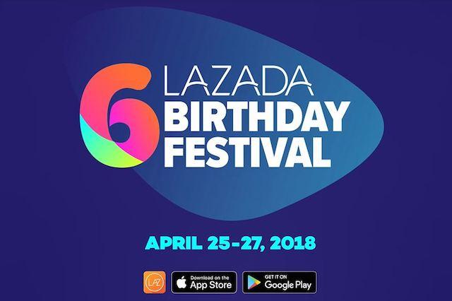 Lazada 6th Birthday Festival Sale