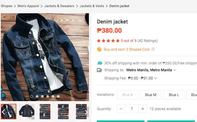 Shopee Philippines Sale