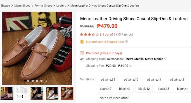 Shopee Shoes