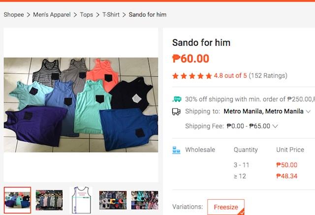 Shopee Sando