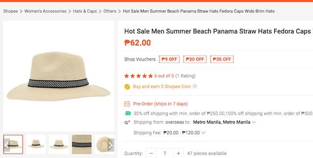 Shopee Hat