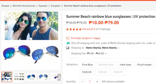 Shopee Sunglasses