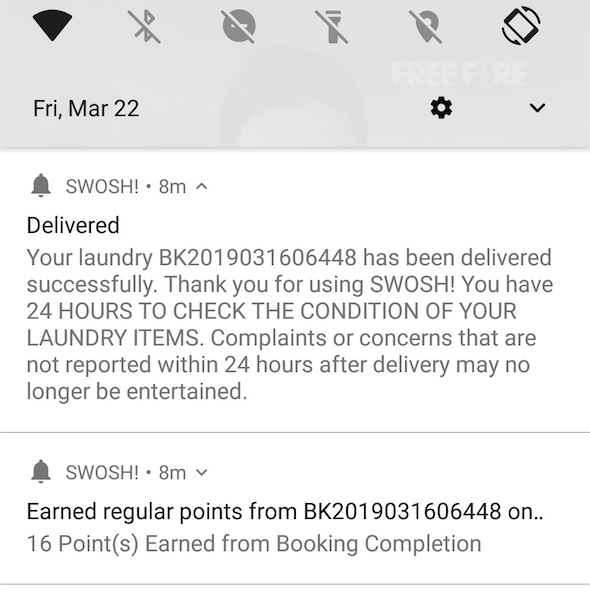 SWOSH Delivery