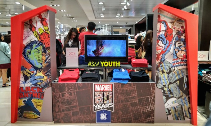 MARVEL 80 Years at SM