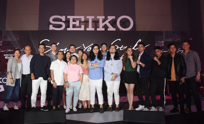 Seiko 5 ambassadors