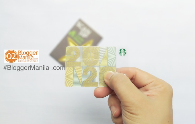 2020 New Year Starbucks Card