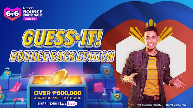 Lazada's Guess It! Bounce Back Special