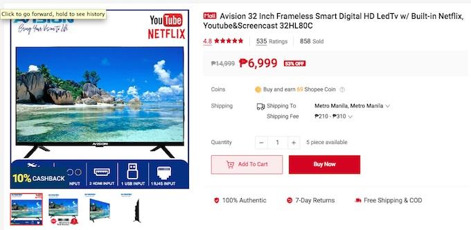 Avision Smart TV