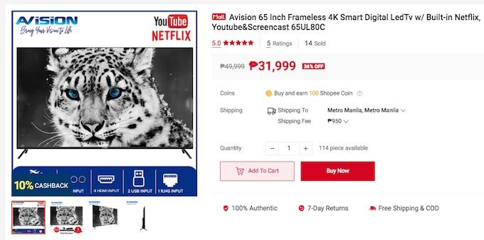 Avision 4K Smart TV